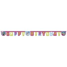 """""""Happy Birthday"""" bänner"""