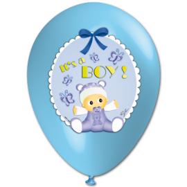 """IT'S A BOY"" trükiga 35cm/14"" õhupallid"