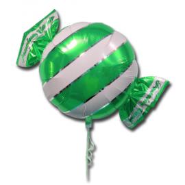 """Komm roheline, heeliumiga täidetud 18""""/45cm"""