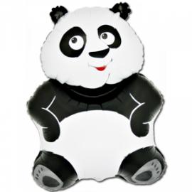 """Panda foolium, heeliumiga täidetud 29""""/73cm"""