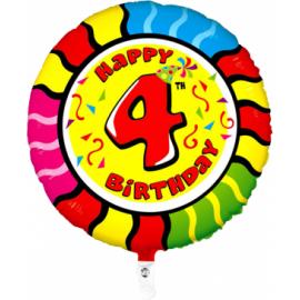 Nr. 4 Fooliumist ümmargune õhupall