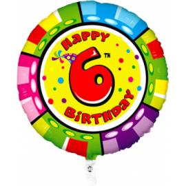Nr. 6 Fooliumist ümmargune õhupall