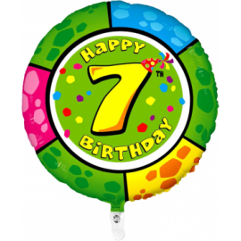Nr. 7 Fooliumist ümmargune õhupall