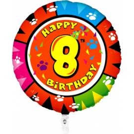Nr. 8 Fooliumist ümmargune õhupall