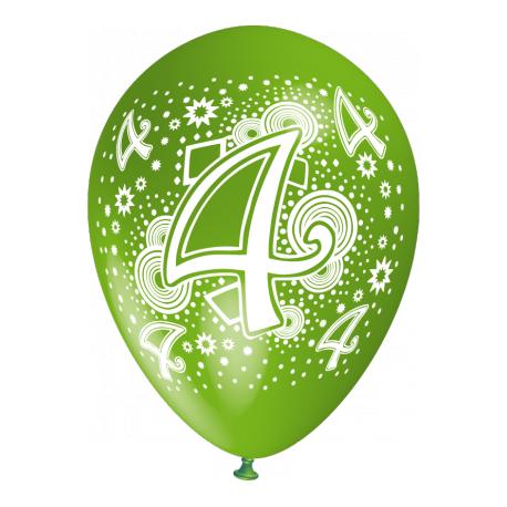 """""""4"""" trükiga 30cm/12"""" õhupallid MIX"""