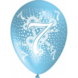 """""""7"""" trükiga 30cm/12"""" õhupallid MIX"""