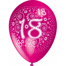 """""""18"""" trükiga 30cm/12"""" õhupallid MIX"""