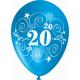"""""""20"""" trükiga 30cm/12"""" õhupallid MIX"""