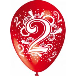 """""""2"""" trükiga 30cm/12"""" õhupallid MIX"""