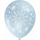 """""""Lumehelbed"""" trükiga 30cm/12"""" õhupallid MIX"""