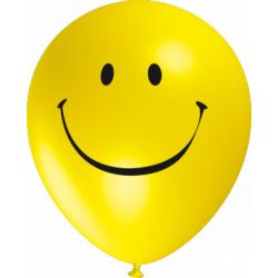 """""""Smiley"""" trükiga 30cm/12"""" õhupallid"""