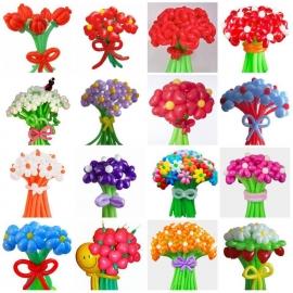 8. Märtsi eripakkumine - Lillekimp õhupallidest (15 lille)