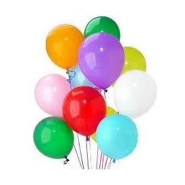 Heeliumiga täidetud õhupallid