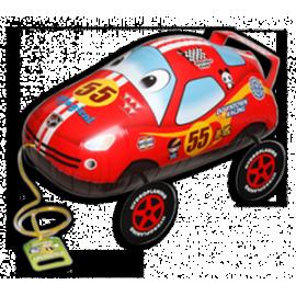 """Võidusõiduauto kõndiv, heeliumiga täidetud 20""""/50cm"""