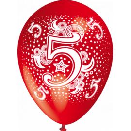 """""""5"""" trükiga 30cm/12"""" õhupallid MIX"""