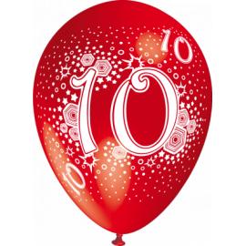 """""""10"""" trükiga 30cm/12"""" õhupallid MIX"""