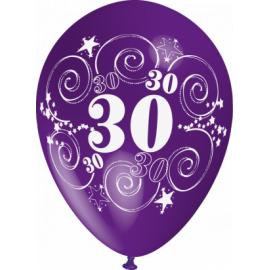"""""""30"""" trükiga 30cm/12"""" õhupallid MIX"""