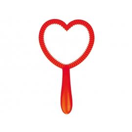 Mullirõngas 12cm, punane süda